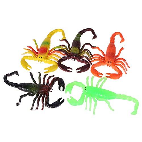 (ZOOMY TPR Kunststoff Simulation Skorpion Tier Modell Kinder Kinder Pädagogisches Spiel Spielzeug)