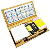 #3: Crownlit® 28 in 1 Book Style Stationary Set with 2018 Calendar and Pen Holder