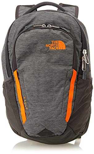 The North Face, Vault, Zaino, Unisex adulto, Grigio (Tnf Dark Grey Heather/Persian Orange), Taglia unica