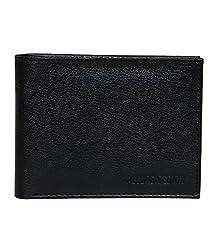 Allure Design Black Wallet for Man