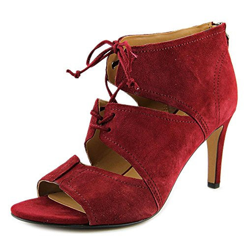 franco-sarto-shawnee-women-us-8-red-peep-toe-heels