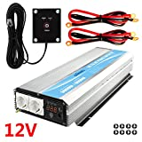 3000W wechselrichter 12V auf 230V/240V spannungswandler konvertermit Fernbedienung &LED - Display Modified Power Inverter Giandel