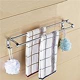 MmDLai 304 Edelstählen Handtuchhalter Einpolige Handtuch Hängen Bad Rack 80 Cm Handtuchhalter