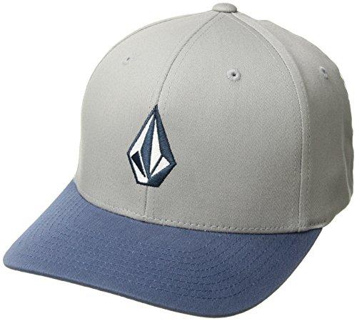 Volcom Full Stone Xfit Blau Cap-Flexfit Herren, Wrecked Indigo, L/XL