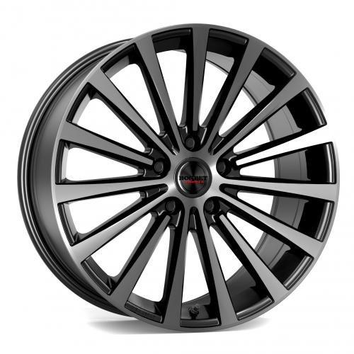 Borbet BLX black polished matt 9,5x19 ET40 5.00x114 Hub Bore 72.50 mm - Alu felgen