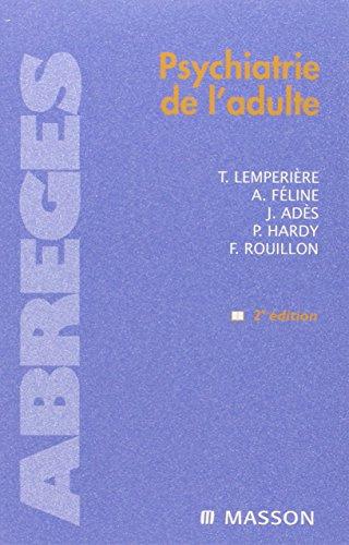 Psychiatrie de l'adulte par Thérèse Lempérière