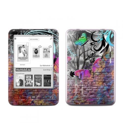 Tolino Shine Skin Ebook Reader Design Schutzfolie Skins Sticker Vinyl Aufkleber - Butterfly Wall