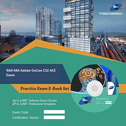 9A0-046 Adobe GoLive CS2 ACE Exam Complete Video Learning Certification Exam Set (DVD)