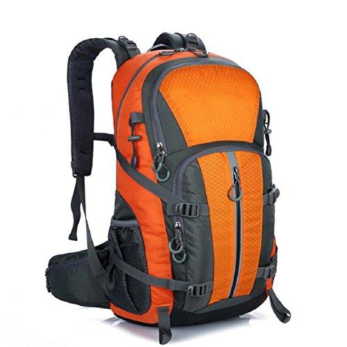 LF&F Backpack 40-50L KapazitäT Bergsteigen GepäCk Tasche Outdoor Wandern Unisex Rucksack Laptop Tasche Student Tasche Geeignet FüR Urlaub Reiten Schwimmen Fitness D