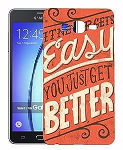 XUWAP 3d printed Designer Hard Back Case For Samsung Galaxy On7 Design-10263
