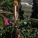 ARISTO Gartenfackel PISA large, Kupfer glänzend