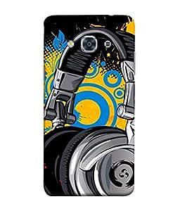 PrintVisa Designer Back Case Cover for Samsung Galaxy J3 Pro (2017) (coloful yellow blue black grey)