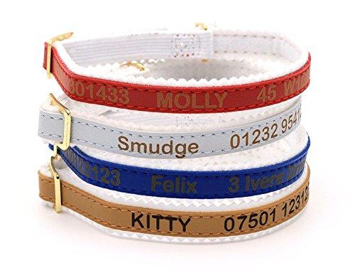 CustomDesign.Shop Personalisiertes Katzenhalsband, Feinste Qualität von Ancol