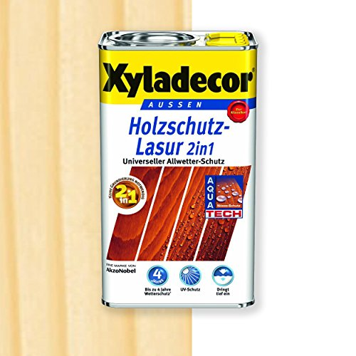 Xyladecor Holzschutz-Lasur 2in1 (5 l, farblos)