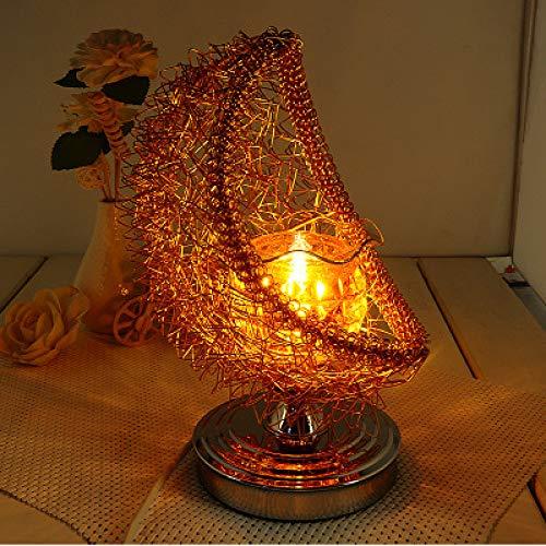 Nueva Lámpara De Fragancia Romántica De Hierro Forjado