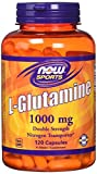 Now Foods | L-Glutamin | Double Strength | 1000mg | 120 Kapseln | glutenfrei