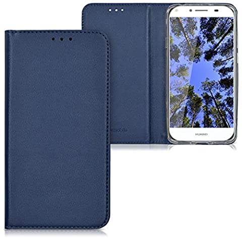 kwmobile Hülle für Huawei Y6 II Compact - Flipcover Case