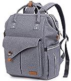 Multifunktions-großer Baby-Windel-Beutel-Rucksack mit Spaziergänger-Bügel, Baby-ändernder Matte, Anti-Wasserwindel-Tasche, Unisexentwurf für Männer u. Frauen