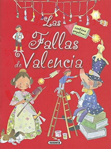 Las Fallas de Valencia con pegatinas (Tradiciones con pegatinas)