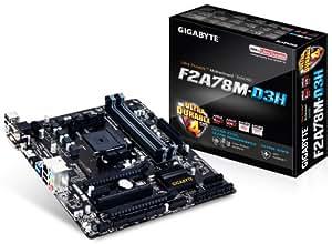 Gigabyte F2A78M-D3H Carte mère AMD Micro ATX Socket FM2+