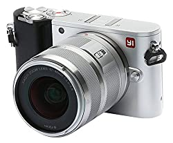 Yi M1 Mirrorless Digital Camera 4k Video 20 Mp Raw Photo With Lcd Touchscreen, Wi-fi, Bluetooth, Interchangeable Lens 12-40mm F3.5-5.6 - Silver