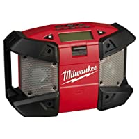 Precise Engineered Milwaukee C12 JSR-0 12v Cordless Compact Jobsite Radio without Battery or Charger [Pack of 1] - w/3yr Rescu3® Warranty
