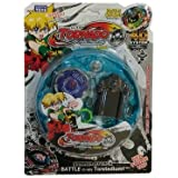 HickoryDickoryBox Tornado Beyblade | Beyblades Fighter With Fight Ring And Handle Launcher - Multi Color