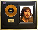 Everythingcollectible James Blunt/Mini Metal Gold Disc & Photo Display/ÉDITION LIMITÉE/COA/Back to Bedlam