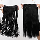 Best GENERIC Hair Extentions - Generic 100% Real Natural Hair Extention 3/4 Full Review