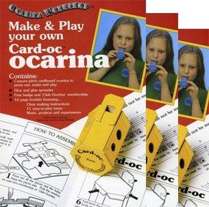 Drei Kartenfächer-OC - machen und spielen Sie Ihre eigenen Karten elektrisch verstärkte Musikinstrumente - jedes einzeln verpackt - diese richtig - Machen Haus Eigene Sie Ihre