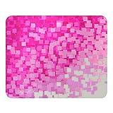 """LogiLink ID0144 Golden Laser Mauspad, """"Red Pattern"""" Design mit Mikro-Strukturierte Oberfläche rosa -"""