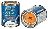 Schöner Wohnen Buntlack 375ml/125ml Lack, DurAcryl,Profidur, Mango,Blau,Papaya,Sand,Cashmere,glänzend,seidenmatt,hochglänzend (Mango RAL 2514, 375ml)