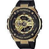 CASIO Herren Digital Uhr mit Harz Armband GST-400G-1A9ER