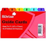 Silvine 5 x 3 inch Guide Cards