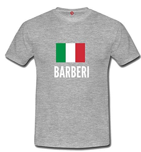 T-shirt Barberi city grigia
