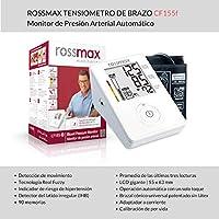 ROSSMAX CF155f Tensiómetro de Brazo | 90 memorias | Tecnología Real Fuzzy | Detector de movimiento