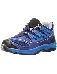 Salomon Zapatos para Niños Kids XA Pro 2K - Negro Asfalto Aluminio Negro