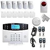 Allarme senza fili blackpoolal impianto completo LCD Wireless GSM allarme di sicurezza domestica sistema di allarme