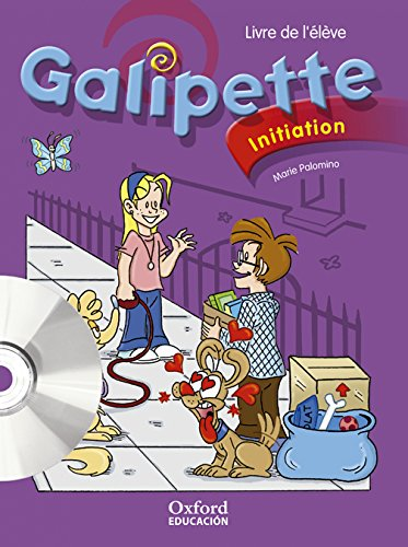 Galipette Initiation. Pack (Livre de l'Élève + Multi-ROM) - 9788467341409
