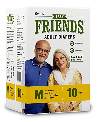 Friends Easy Adult Diapers Pack of M 120's