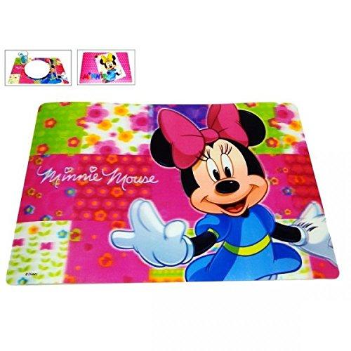 Disney Minnie Mouse 3d, tovagliette Set regalino, Plastica, Set 1, 2 pezzi