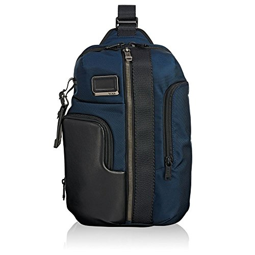 Tumi Alpha Bravo - Smith Sling Mochila tipo casual, 36 cm, 10.8 liters, Azul (Navy)