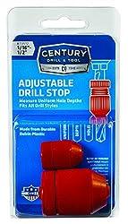 Century Drill & Tool 73512 Adjustable Drill Stop, 2 Piece