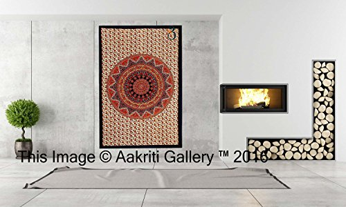 tapisserie-orange-simple-star-tapisseries-mur-decor-suspendu-art-mandala-hippie-ou-residence-2134-x-