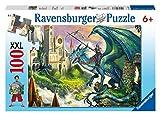 Ravensburger 10876 - Drachenreiter - 100 Teile XXL Puzzle
