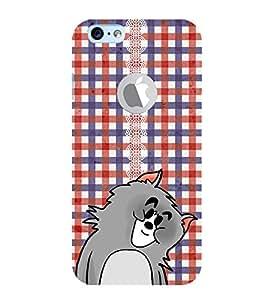 EPICCASE Teady Bear Mobile Back Case Cover For Apple iPhone 6, 6S Logo Cut (Designer Case)