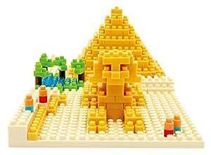 Nanoblock - NBH-033 - Pyramide de Khéops - 250 pièces