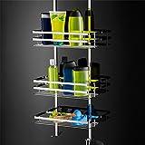 SAILUN® Edelstahl Hängeablage Badregal für die Duschecke, hygienisch, Duschablage 3 Böden zum Hängen Vergleich