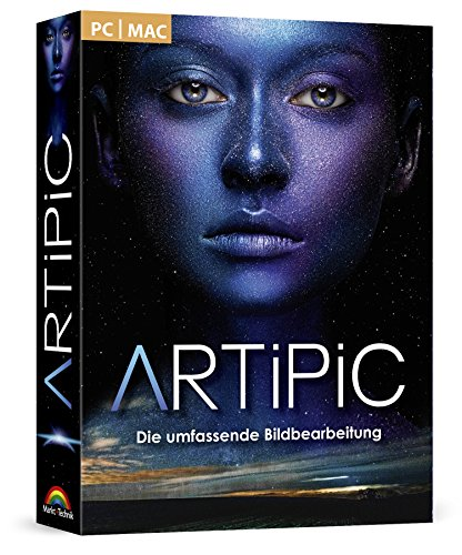 Artipic Photo Editor Bildbearbeitung - umfangreiche Funktionen Fotos bearbeiten und leichte Handhabung im Fotobearbeitungsprogramm Windows 10, 8.1, 8, 7