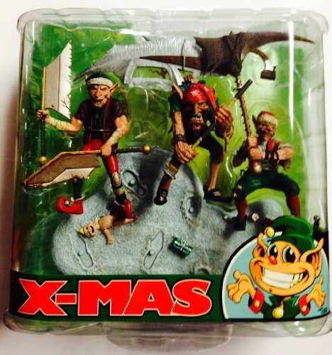 McFarlane: Monster Series Twisted Christmas - Santa's Little Helpers by McFarlane Toys